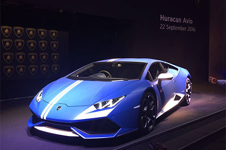 Lamborghini: Huracán Avio
